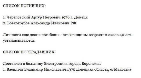 В числе пострадавших в ДТП в Воронежской области были макеевчане (фото) - фото 1