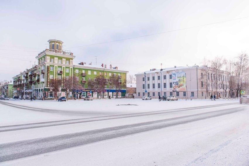 площадь Ленина от аптеки