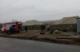 Под Мариуполем сотрудники СЧС развернули пункты обогрева (ФОТО) (фото) - фото 2