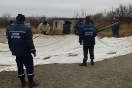 Под Мариуполем сотрудники СЧС развернули пункты обогрева (ФОТО) (фото) - фото 3