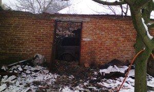 В Черниговской области сгорело два автомобиля (фото) - фото 1