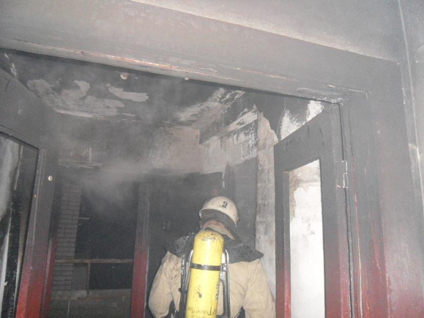 В днепродзержинской многоэтажке на проспекте 50 лет СССР случился пожар, фото-2