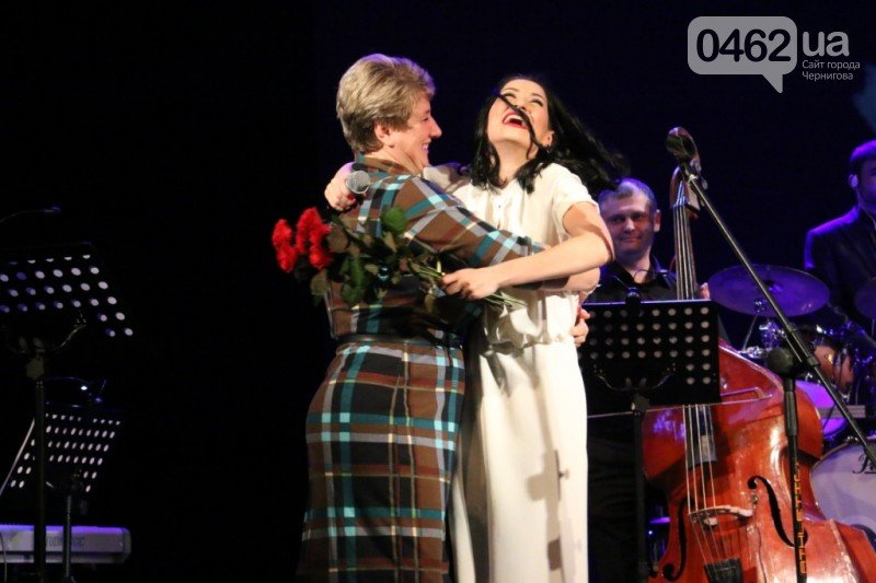 Анико Долидзе представила в Чернигове концертную программу Dear Ella, фото-9