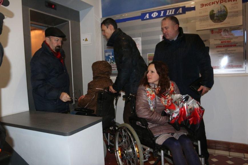 Новоизбранные депутаты почувствовали себя инвалидами, фото-8