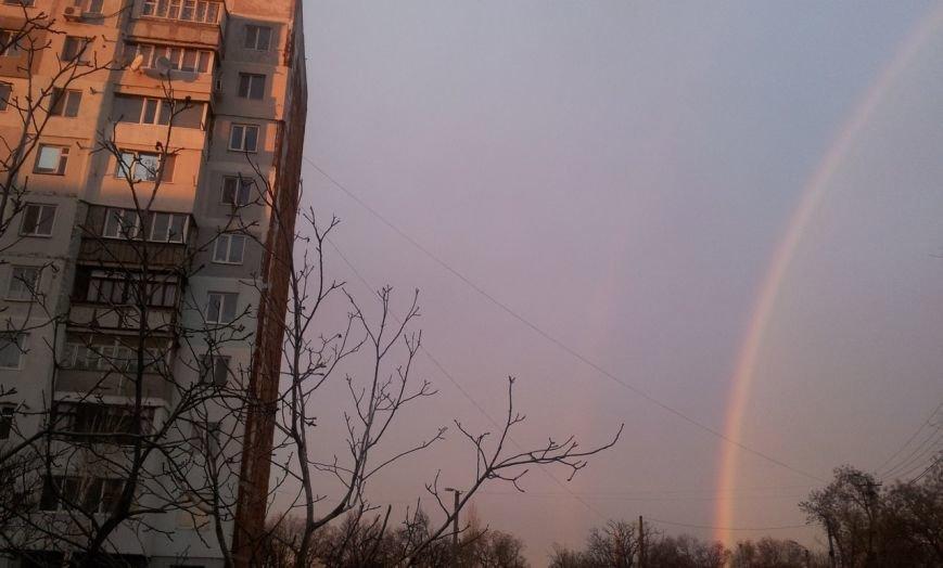 Природная аномалия: В первый день зимы под Одессой видели радугу (ФОТО) (фото) - фото 1