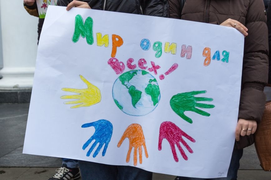 ebed67b3f4c1118d1eea7d9e17c35fdc В Одессе студенты-медики провели мирный митинг у мэрии в преддверии Международного дня инвалидов