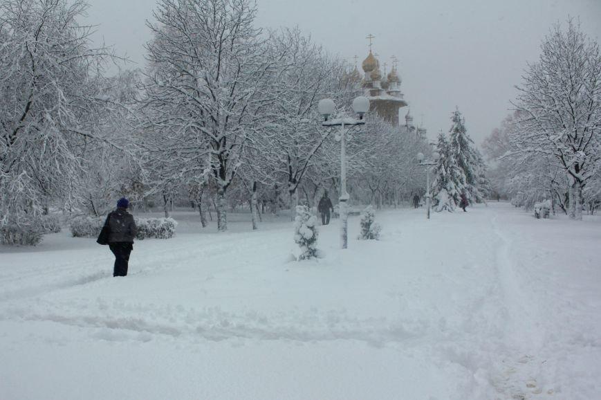 В Белгород пришла зима, фото-1