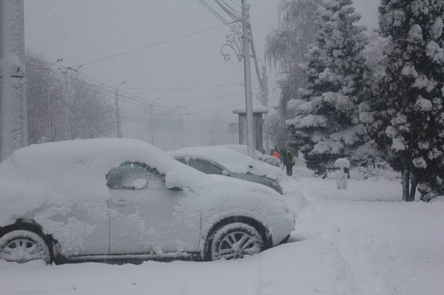 В Белгород пришла зима, фото-5