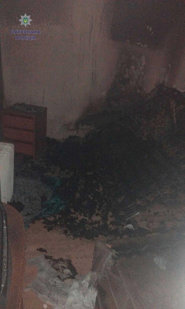 У Львові через нетверезого студента сталася пожежа у квартирі (ФОТО) (фото) - фото 1