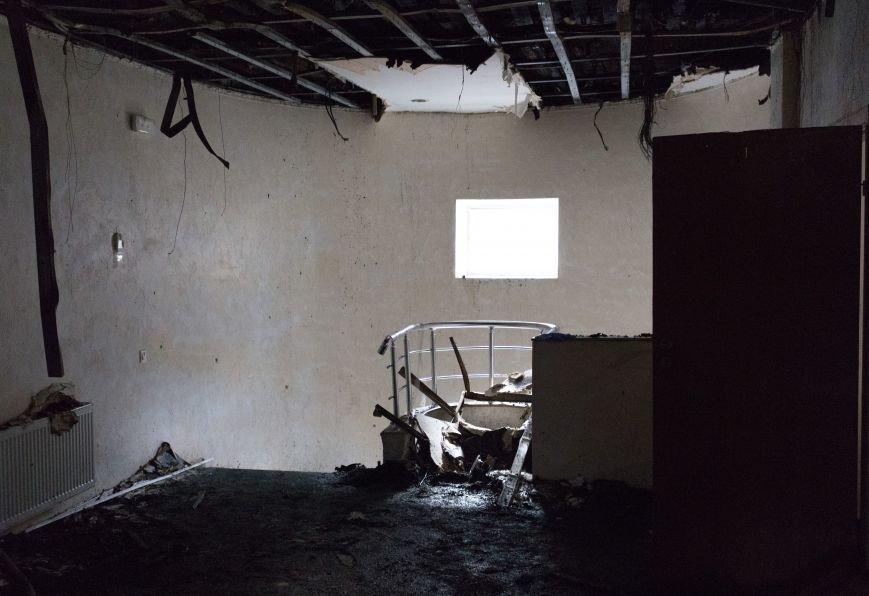 4d36471f645d075ae04545d01176c149 Как выглядит сожженный волонтерский центр в Одессе