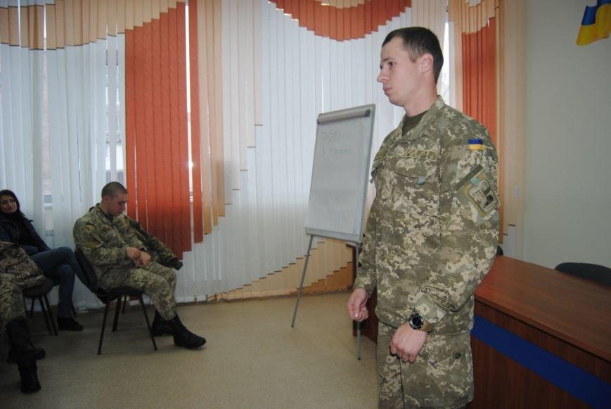 У Рівному відбувся ярмарок вакансій посад служби за контрактом у Збройних Силах України (фото) - фото 1