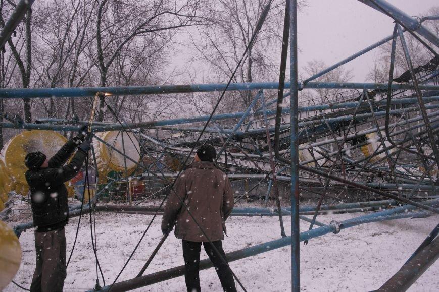 «Колесо обозрения» в Красноармейске пало (фото) - фото 1