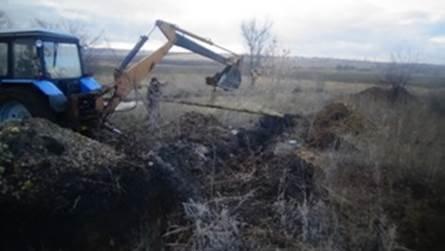 В Луганской области обнаружили еще один подпольный трубопровод в Россию (ФОТО) (фото) - фото 1