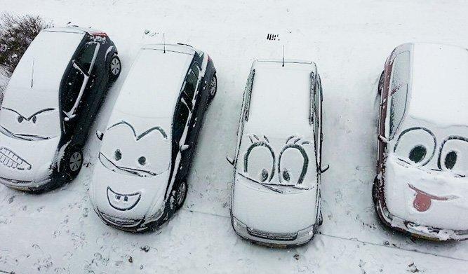 Снег как способ самовыражения (фото) - фото 1