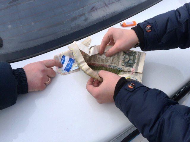 В Кировоградской области у пассажира грузовика обнаружили наркотики. ФОТО (фото) - фото 1