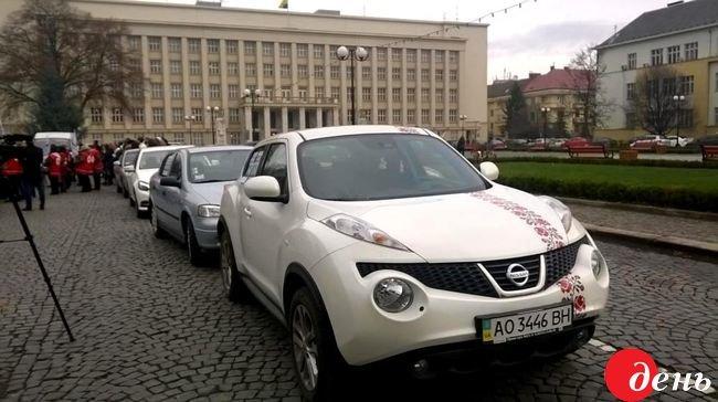 В Ужгороді стартував національний автопробіг «На запчастини – тільки машини!» (ФОТО), фото-2