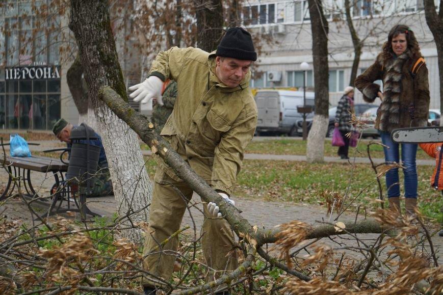 Чистота и порядок в скверах и парках нашего города (фото) - фото 1
