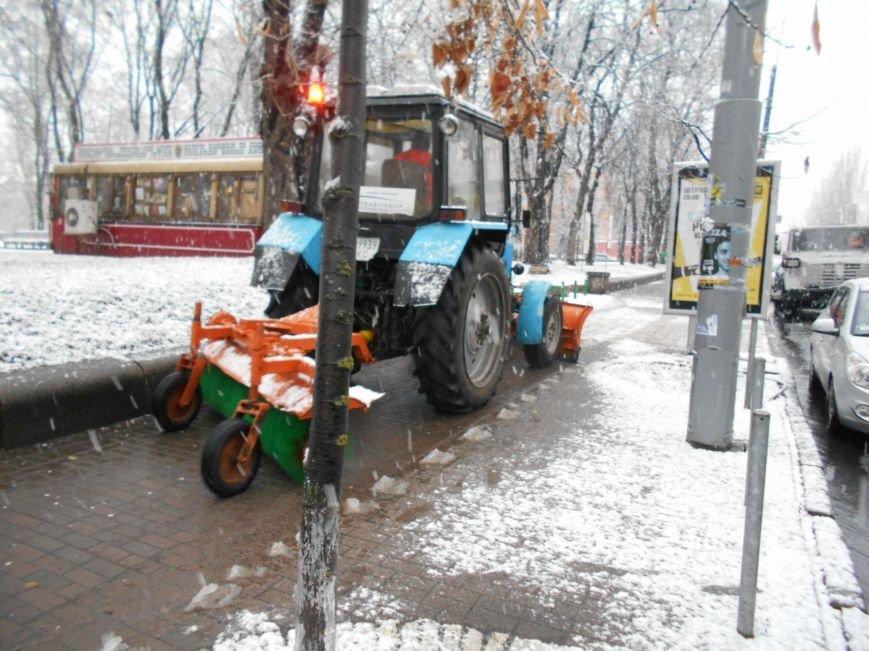 Мэрия вывела на уборку снега 221 машину (ФОТО) (фото) - фото 1