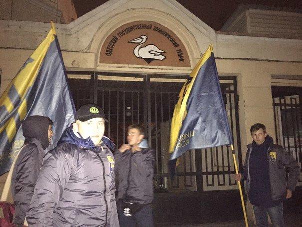 06efcf114eda6cb2e22576442995dd55 Битва за орлов: одесский «Азов» защищал птиц и от эксплуататоров, и от полиции