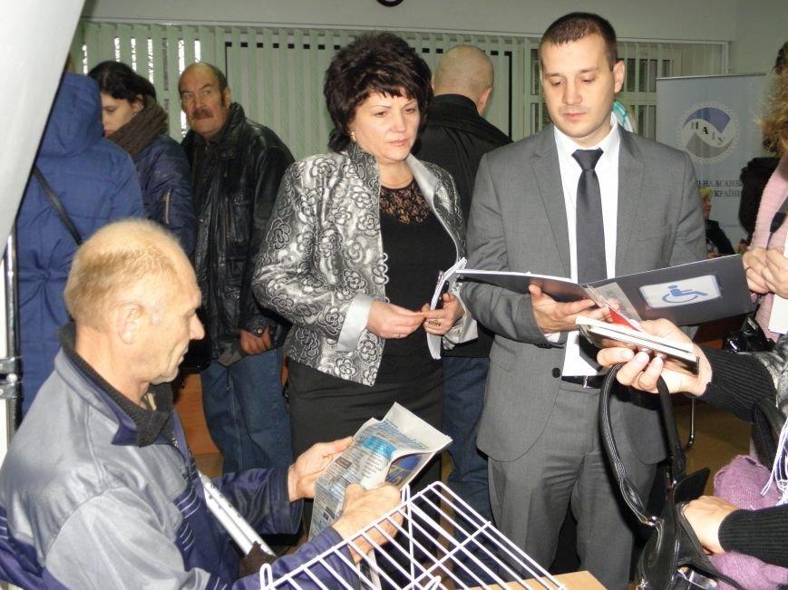 Инвалиды в Краматорске искали работу (фото) - фото 4