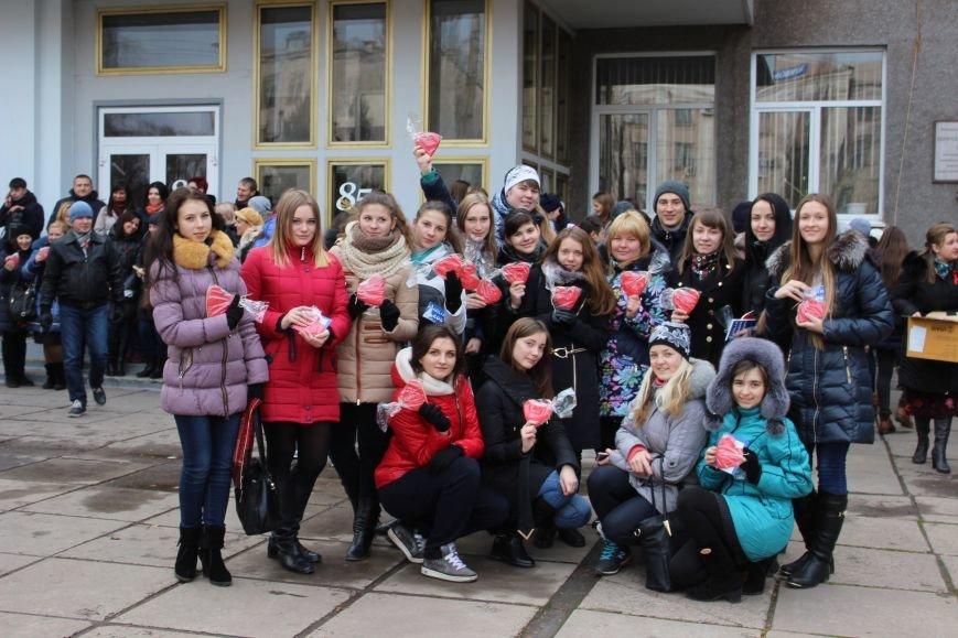 Студенты пединститута провели акцию «С открытым сердцем»  (ФОТО), фото-3