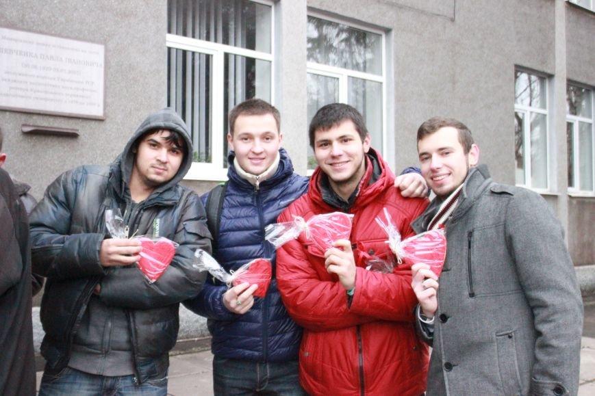 Студенты пединститута провели акцию «С открытым сердцем»  (ФОТО), фото-5
