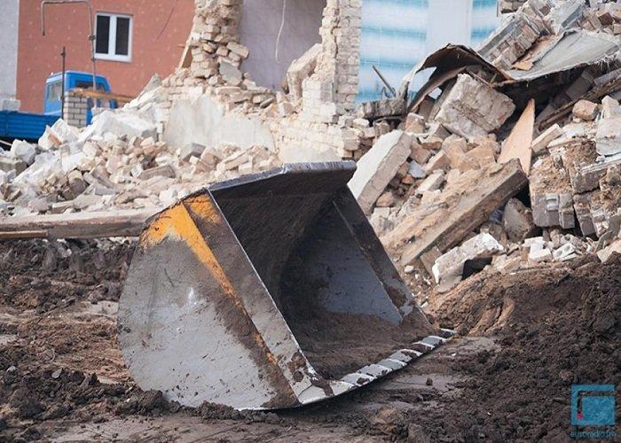Фоторепортаж: в Гродно на улицах Татарская и Комбайнерская сносят частные постройки (фото) - фото 10