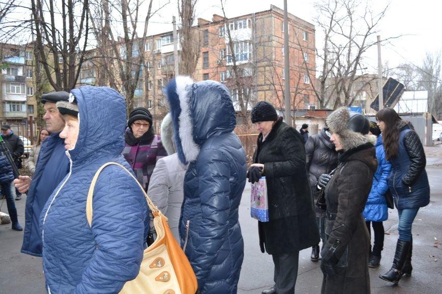 Криворожане пикетируют редакцию коммунальной газеты «Червоний гірник» (ФОТО), фото-9