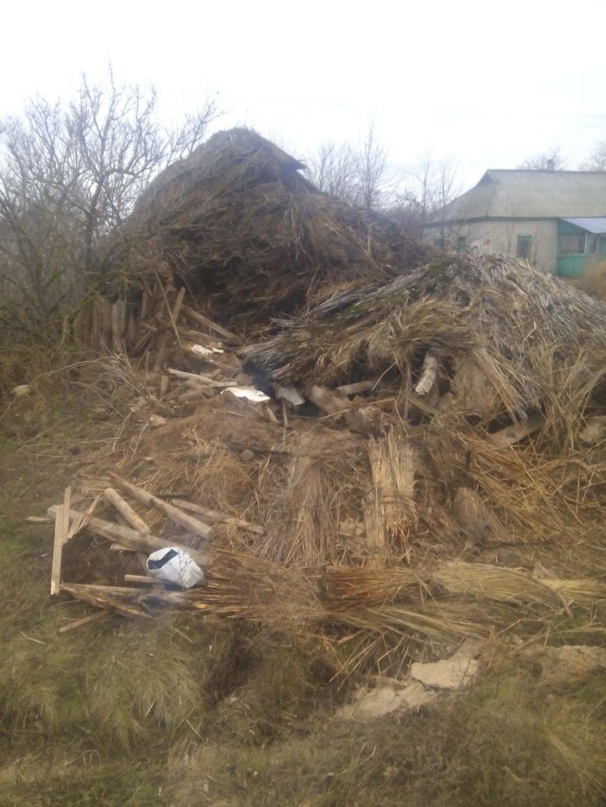 В Кременчугском районе пенсионер погиб под обломками сарая (ФОТО), фото-1