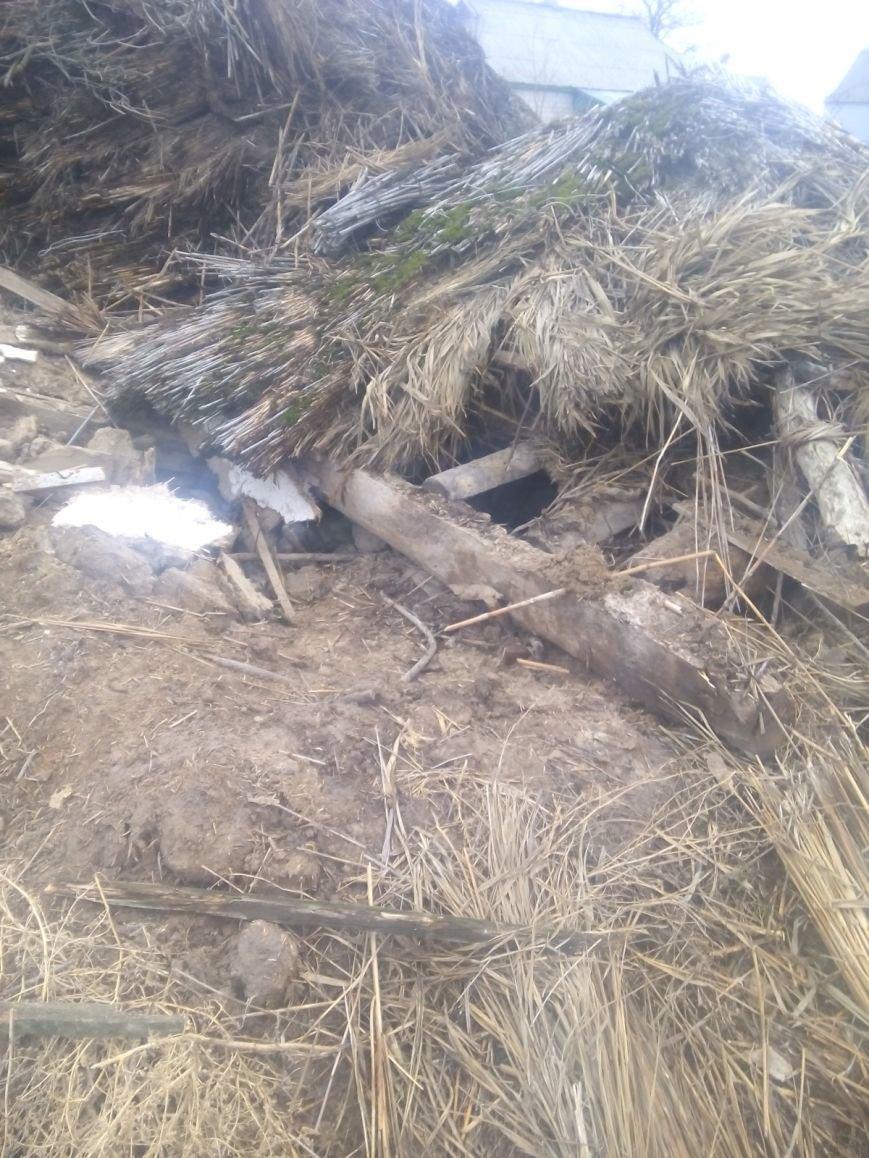 В Кременчугском районе пенсионер погиб под обломками сарая (ФОТО), фото-2