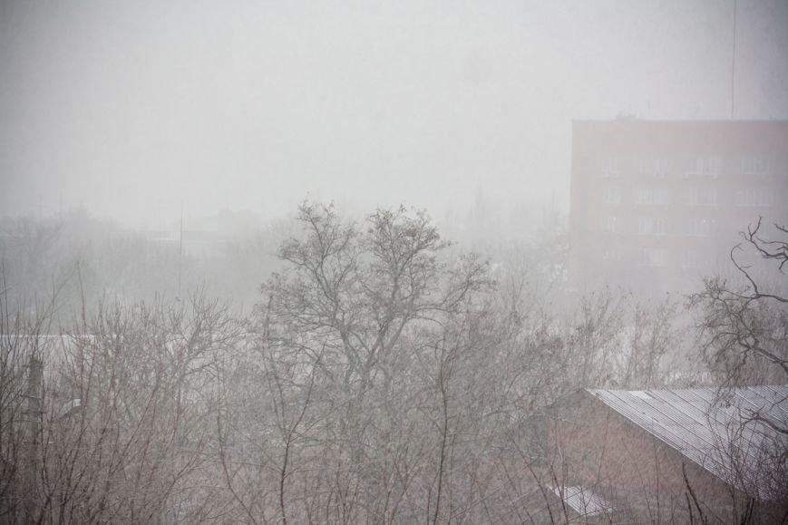 В Ростове-на-Дону пошел обещанный синоптиками снег, фото-4