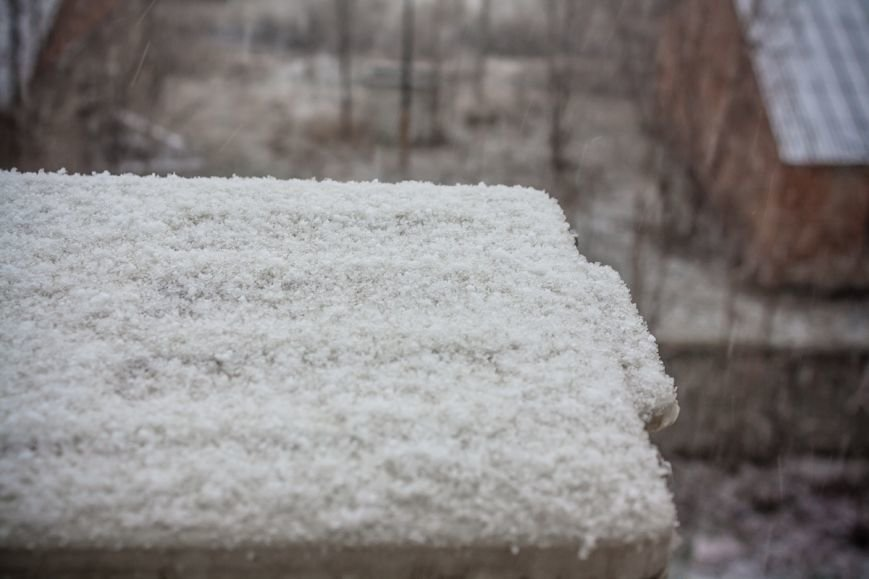 В Ростове-на-Дону пошел обещанный синоптиками снег, фото-1