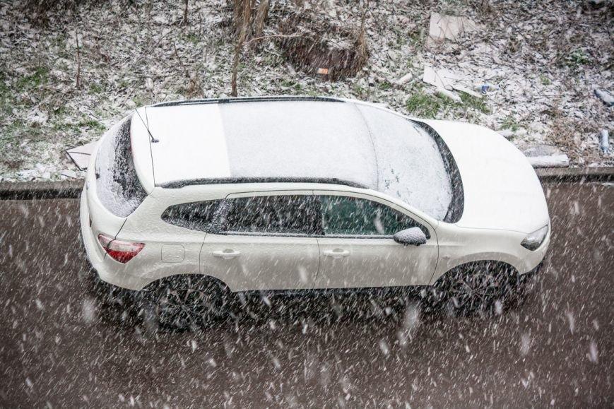 В Ростове-на-Дону пошел обещанный синоптиками снег, фото-3