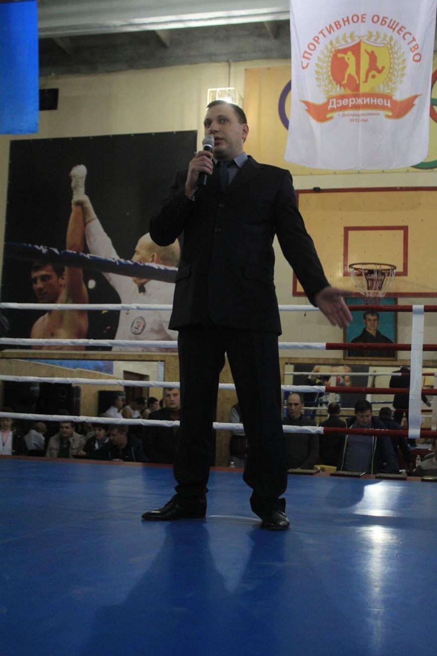В Днепродзержинске состоялось открытие всеукраинского турнира по боксу, фото-7
