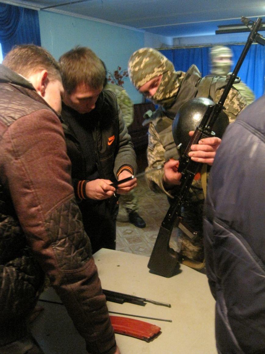 Военные Добропольского комиссариата активно участвуют в воспитании молодежи (ФОТО), фото-4