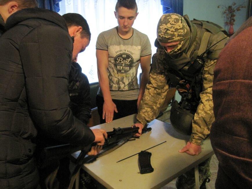 Военные Добропольского комиссариата активно участвуют в воспитании молодежи (ФОТО), фото-5