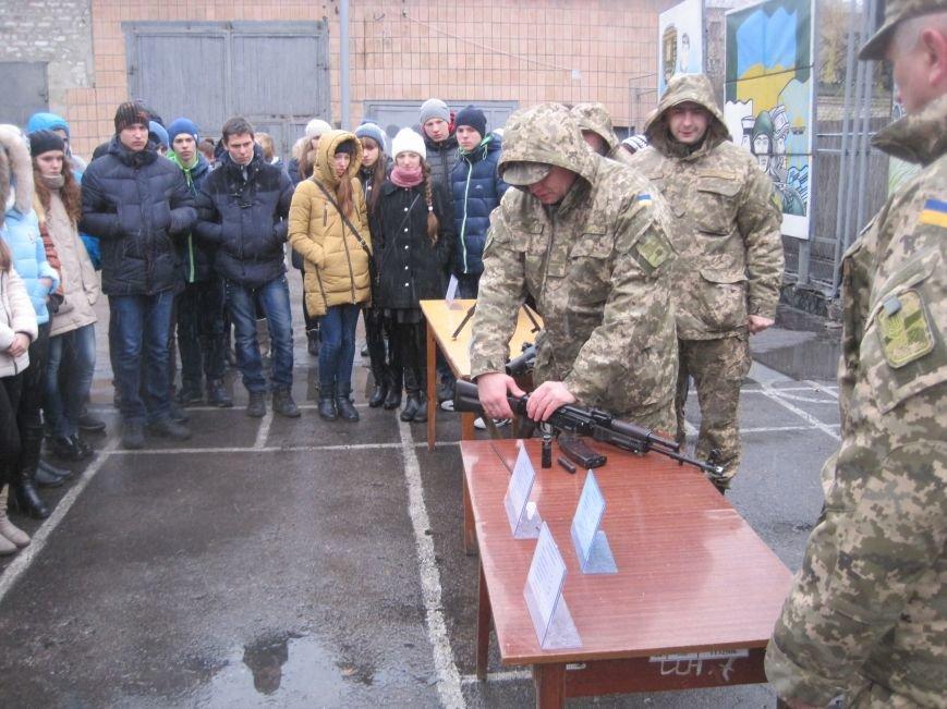 Военные Добропольского комиссариата активно участвуют в воспитании молодежи (ФОТО), фото-7
