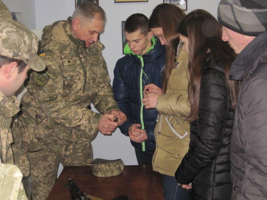 Военные Добропольского комиссариата активно участвуют в воспитании молодежи (ФОТО), фото-11