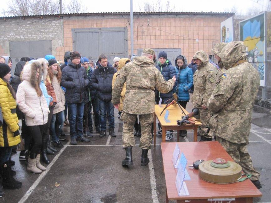 Военные Добропольского комиссариата активно участвуют в воспитании молодежи (ФОТО), фото-8
