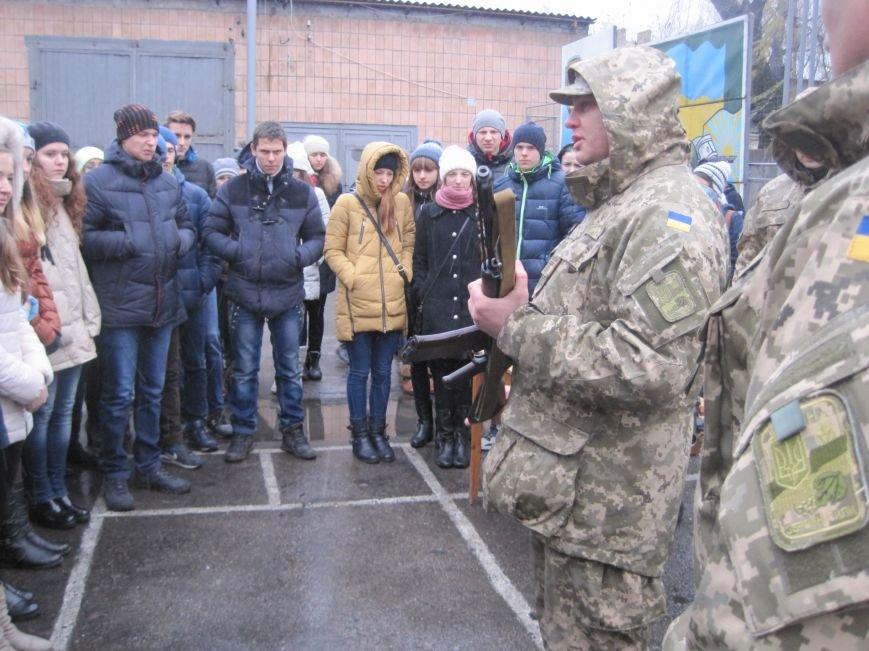 Военные Добропольского комиссариата активно участвуют в воспитании молодежи (ФОТО), фото-6