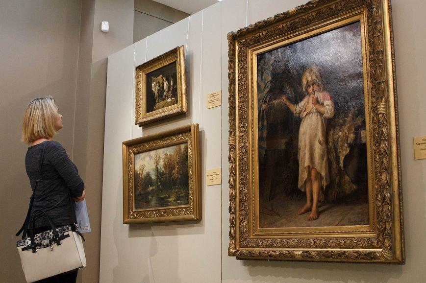 Русский музей впервые привёз в Белгород картины выдающихся художников 18-20 веков (фото) - фото 1