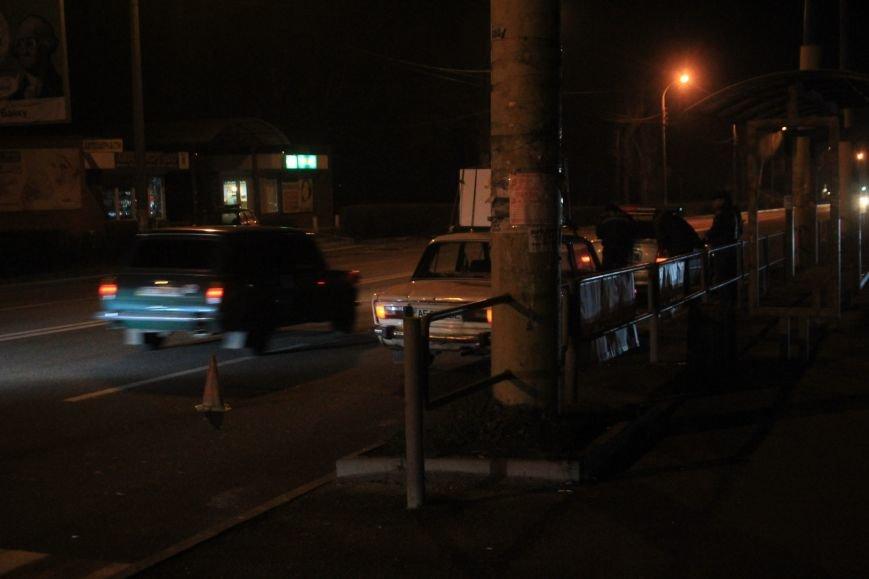 В Днепродзержинске на проспекте Юбилейном произошло ДТП с участием пешехода (фото) - фото 1