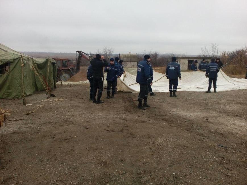 В Донецкой области возле КПВВ открыли пункты обогрева (фото) - фото 1