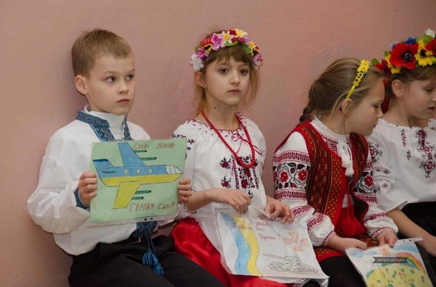 Военные на БТРе побывали в краматорской школе (ФОТО), фото-10