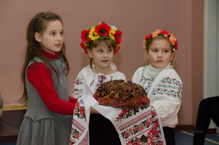 Военные на БТРе побывали в краматорской школе (ФОТО), фото-8