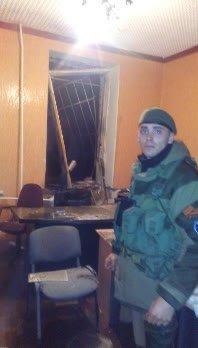 В Донецке сгорел военкомат (ФОТО) (фото) - фото 2