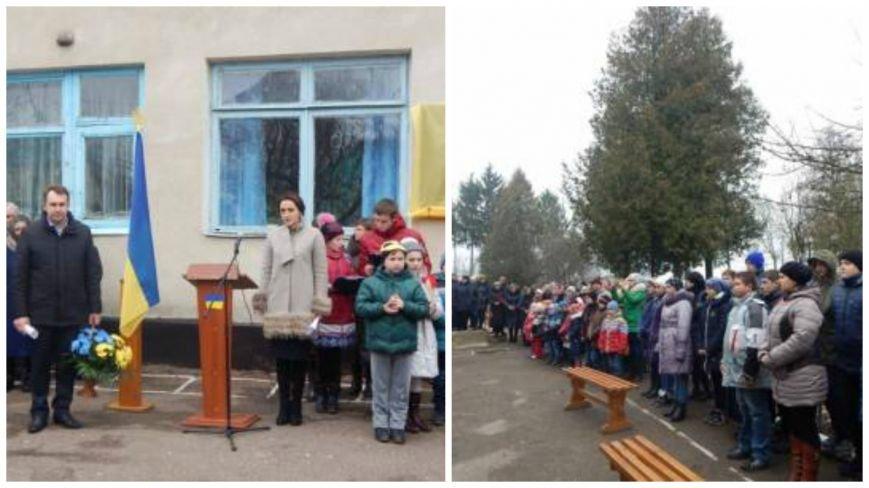 На Хмельниччині відкрили меморіальну дошку ще одному загиблому воїну (Фото) (фото) - фото 1
