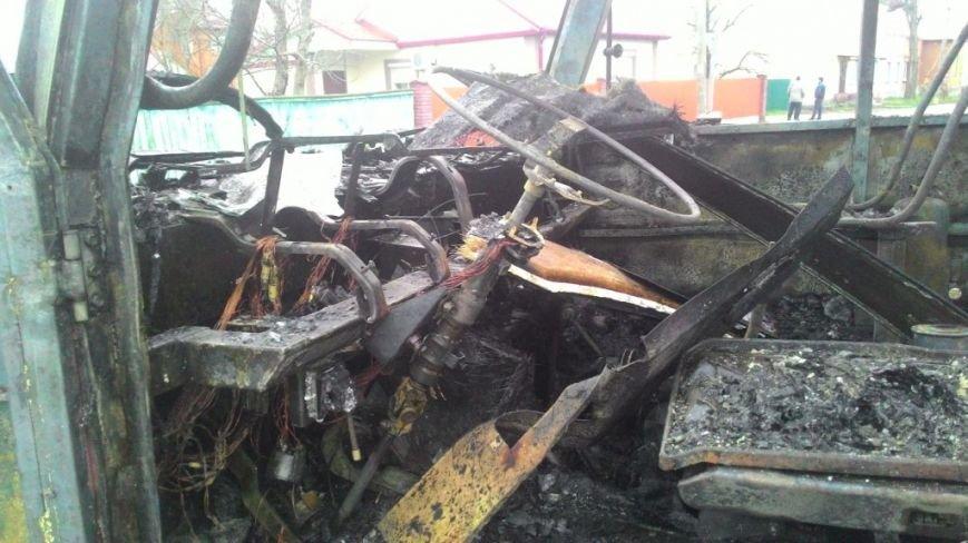 В Черниговской области загорелся автобус с пассажирами, фото-3