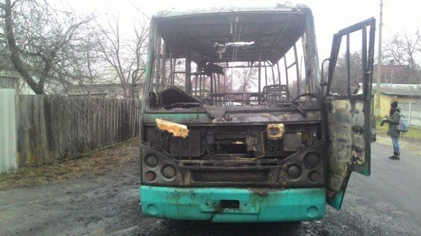 В Черниговской области загорелся автобус с пассажирами, фото-4