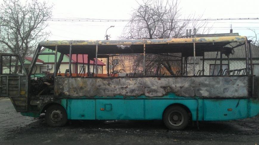 В Черниговской области загорелся автобус с пассажирами, фото-2